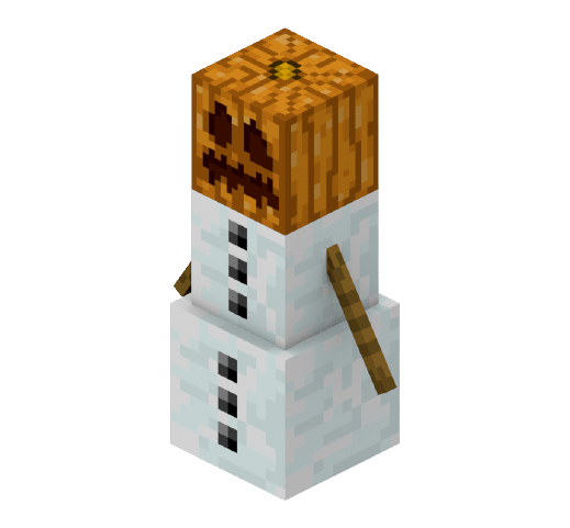 Minecraft Sneeuwman knuffel kopen